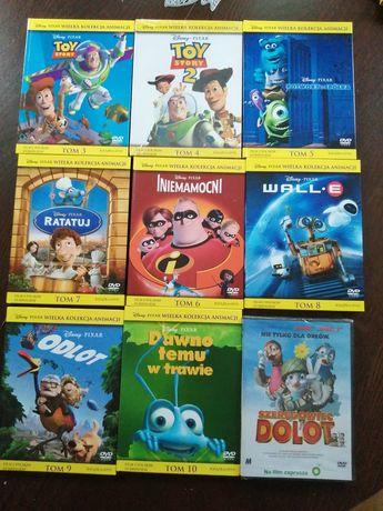 Zestaw płyt DVD z bajkami