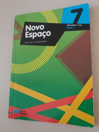 Novo Espaço 7 - Matemática 7° ano - Manual (parte 1)