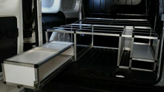 Camperbox estrutura amovível