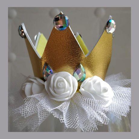 Комплект дівчині,корона принцеси,подарунок донечки,на день народження