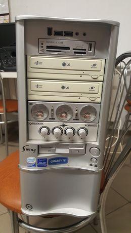 Komputer PC 750W Intel Q6600 Asus P5Q PRO 2x500GB 8 GB Radeon HD4850