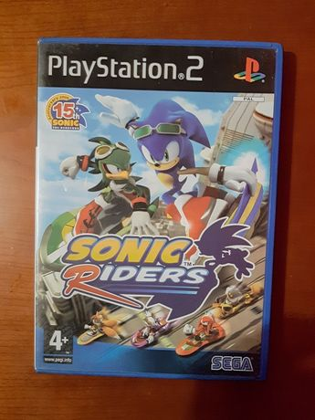 Sonic Riders playstation 2 (completo)