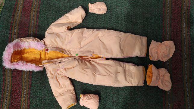 Зимовий комбінезон chicco 86 розмір
