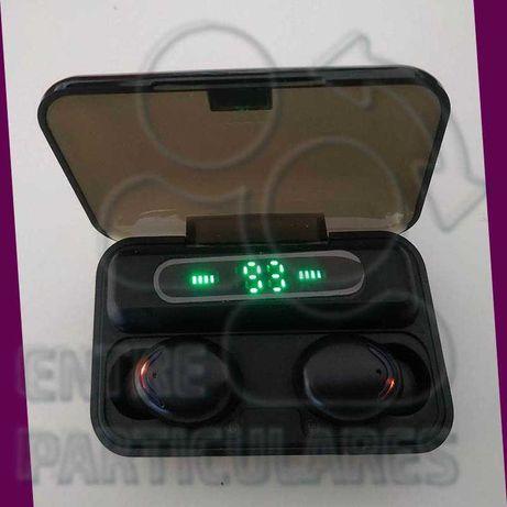 TWS Fones Bluetooth Estojo PowerBank 2000mah Auriculares  P0030G