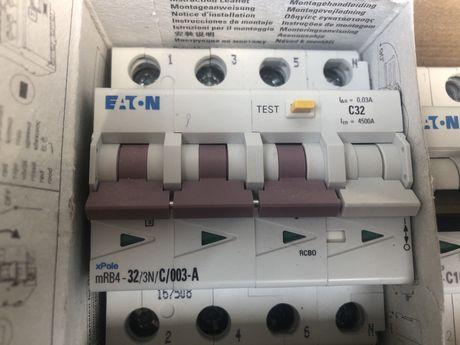 Диф автомат EATON (moeller) mRB4-32/3N/C/003-A