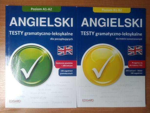Testy gramatyczno-leksykalne j. Angielski poziom A1-A2 i B1-B2