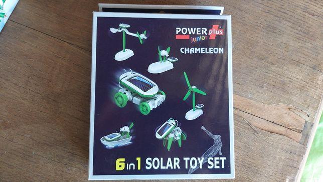 Kit Solar 6 em 1 brinquedos a energia solar