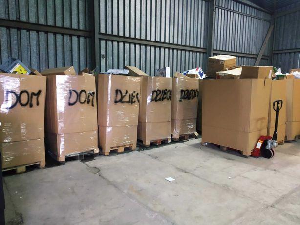 Palety MIX towarów ABC Retourware, nadwyżki, zwroty konsumenckie