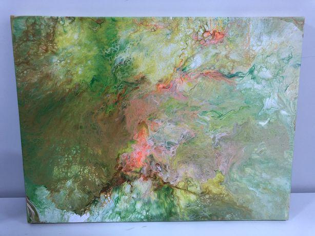 Картина акрил, холст на подрамнике