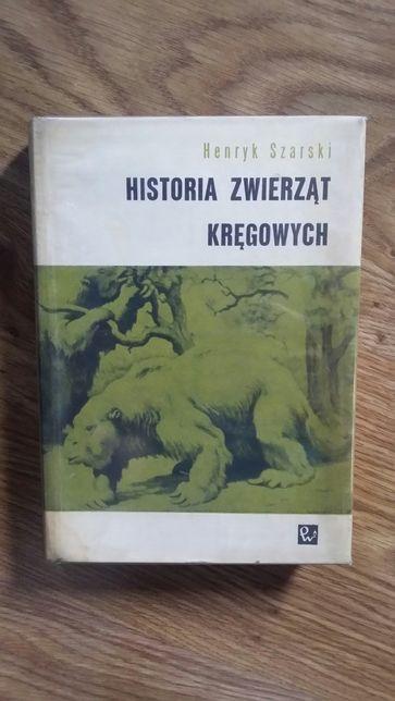 H. Szarski historia zwierząt kręgowych A