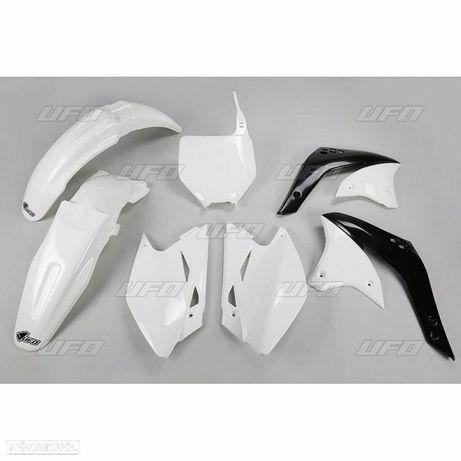 kit plasticos ufo branco kawasaki kx 250 / 450f