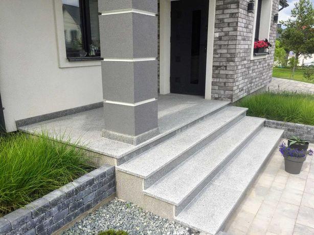 Granit Marmur układanie: schody, tarasy, podłogi, łazienki   kamień