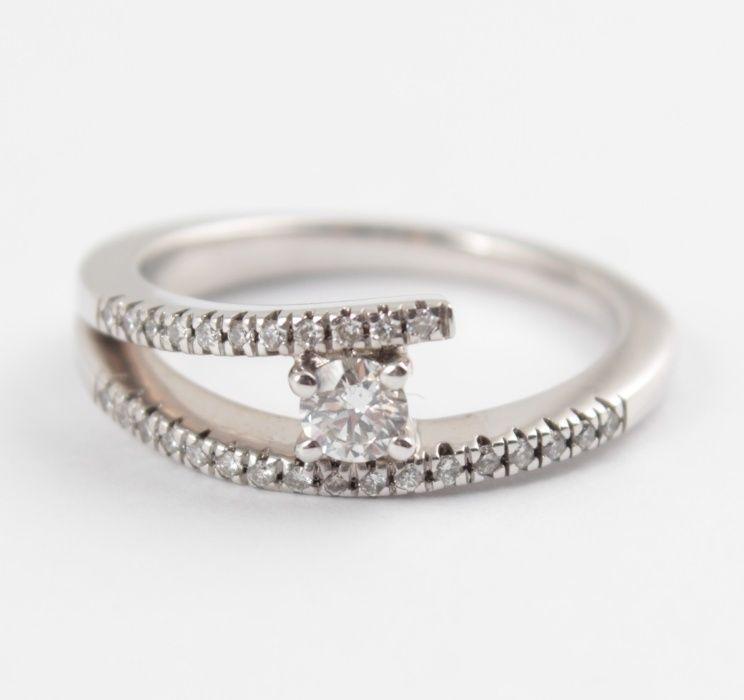 Распродажа! Золотое кольцо с бриллиантами Харьков - изображение 1
