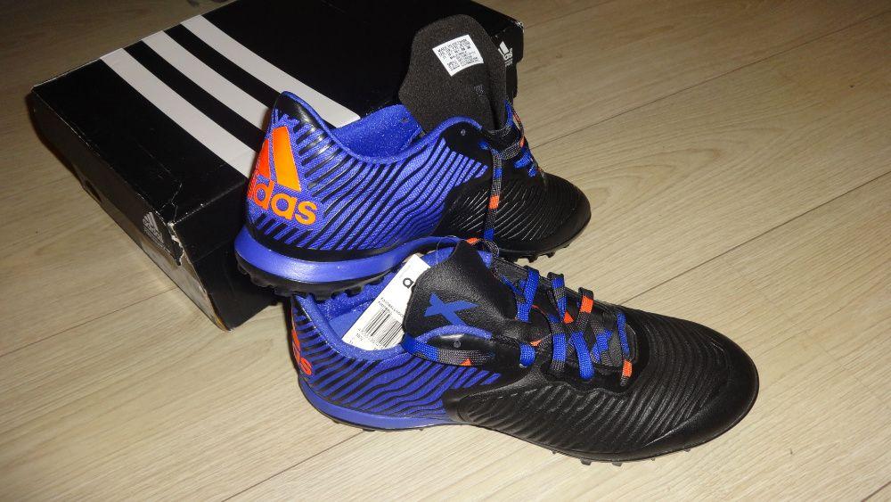 Кроссовки Adidas X 15.2 CG TF Sn54 Black/Flash Red 10.5(45.3) Полтава - изображение 1
