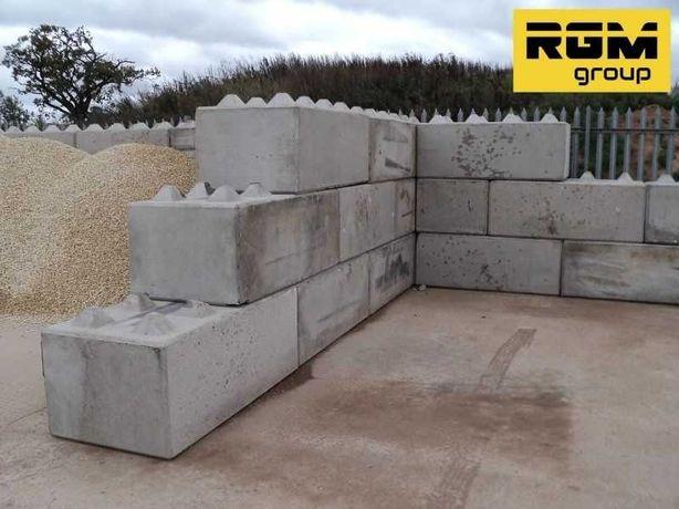 Модульные бетонные блоки лего