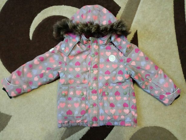 Термокуртка для дівчинки