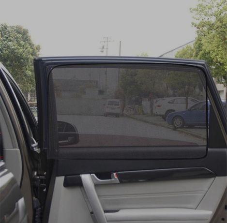 Zasłonki przeciwsłoneczne do samochodu NA MAGNES osłony NOWE 2 SZT.