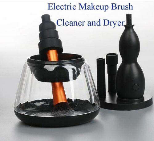 Устройство для очищения кистей для макияжа. Электрический очиститель.