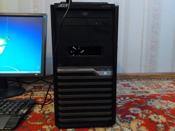 Системный блок - двухъядерный компьютер стационарный