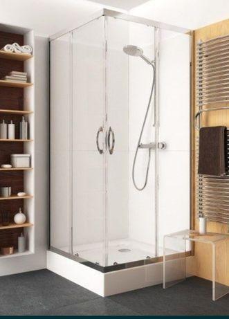 Kabina prysznicowa Koło Veno 80x80 z brodzikiem i syfonem