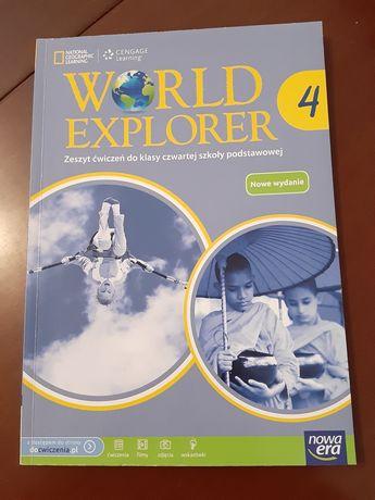 World Explorer 4 zeszyt ćwiczeń