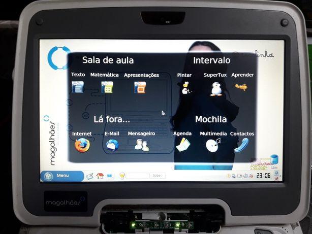 PEÇAS - Portátil Magalhães (MG1) -Ecrã, Board, etc - está a funcionar!