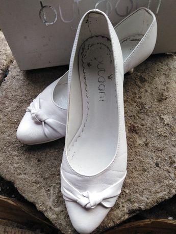 Buty ślubne białe 38