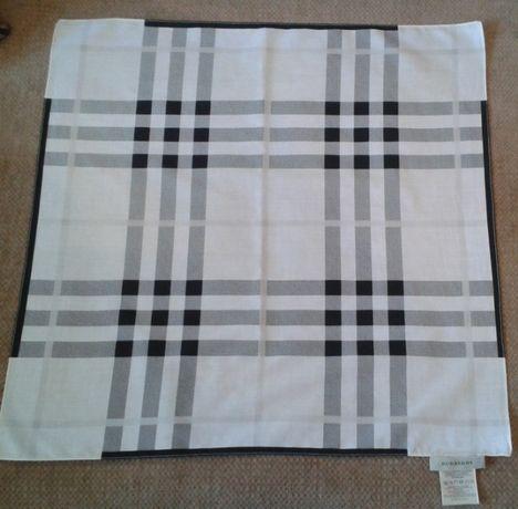 Хустина Burberry платок оригинал шейный номерной хлопковый