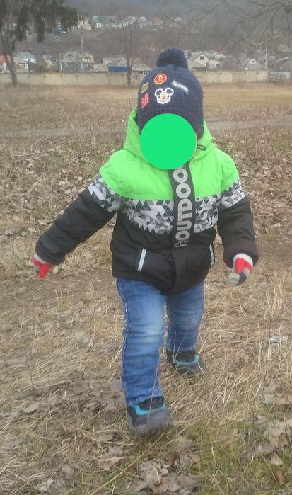 Курточка детская теплая 98 р Могилев-Подольский - изображение 1