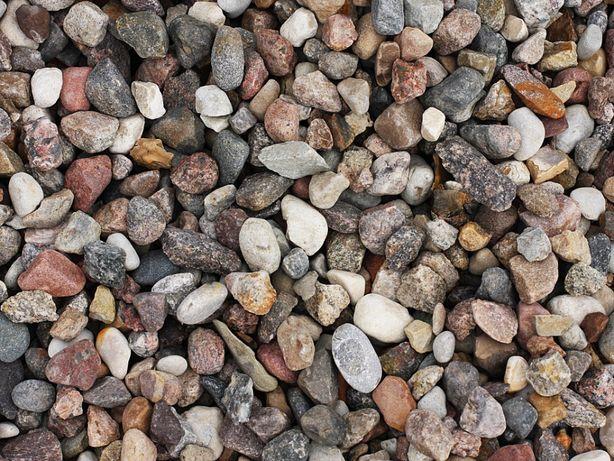 Żwir płukany kamień ogrodowy ozdobny 8-32mm 25kg/1T