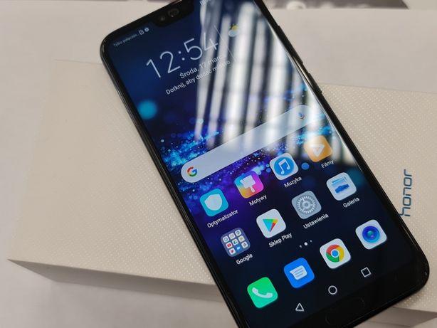 Honor 10 Dual SIM/ 4GB / 64GB/ Czarny/ 100% sprawny/ Gwarancja