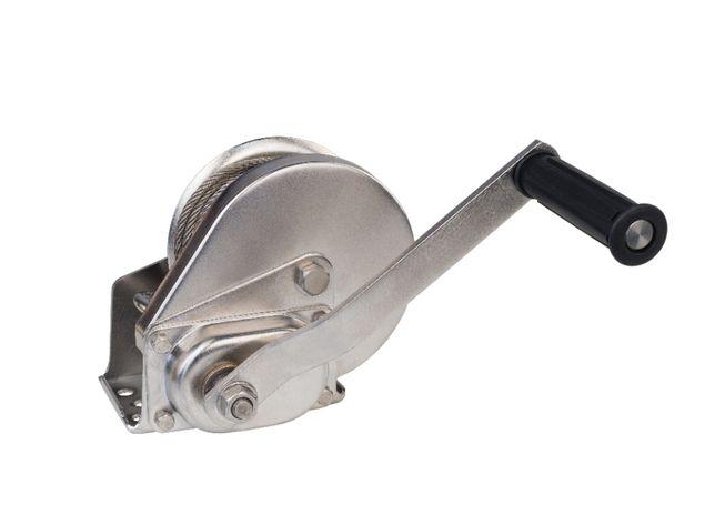Wciągarka ręczna linowa INOX wyciągarka samohamowna nierdzewna DOMET