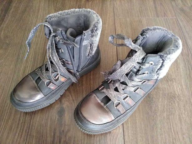 Półbuty botki buty dziewczęce smyk r.33