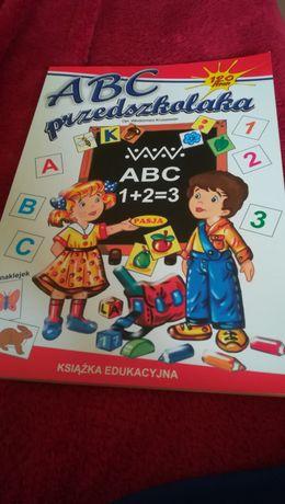 Abc przedszkolaka z naklejkami przedszkole kruszewski nauka liter