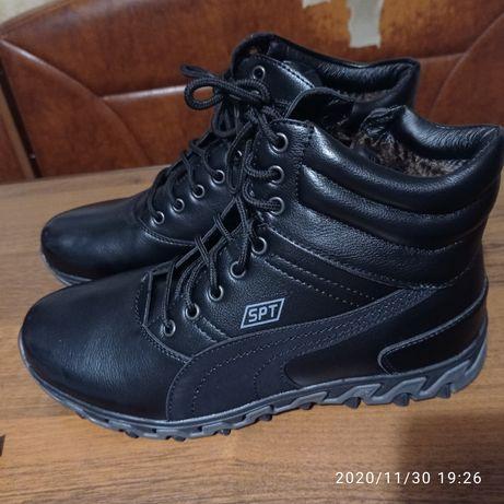 Зимние ботинки, новые 41размер