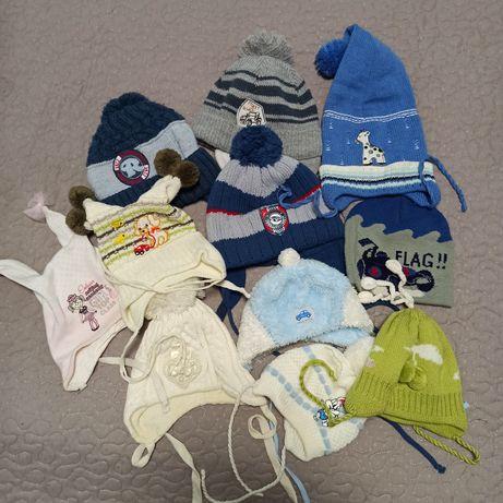 Детские шапочки для мальчиков и девочек