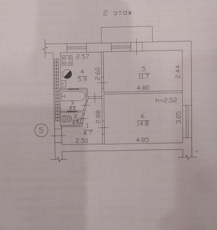 Продам квартиру в Ленинском районе Мельница бульвар Франко