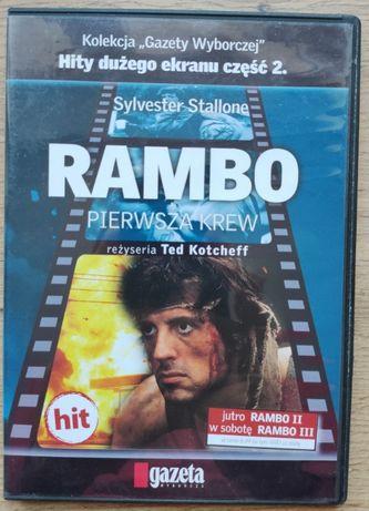 Rambo pierwsza krew Sylvester Stallone Ted Kotcheff