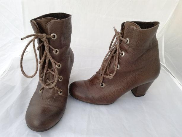 Buty botki skórzane Ryłko r. 38 , wkł 25 cm