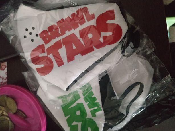 Крутая детская Brawl Stars маска