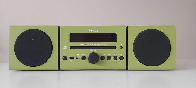 Wieża Yamaha MCR-042 zielona CD MP3 AUX USB