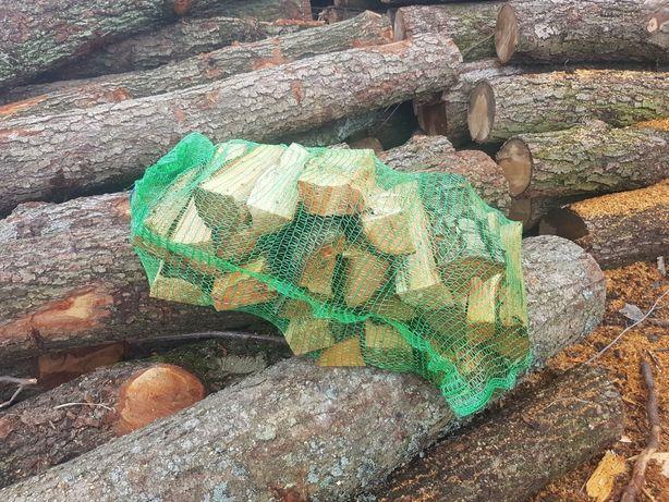 Drewno olchowe do wędzenia w workach do kominka 30 cm opałowe kominkow