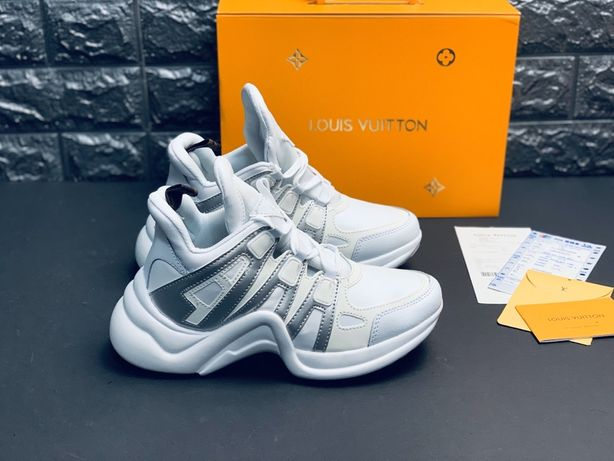Продам нові шкіряні кросівки Louis Vuitton Lux в фірмовій упаковці