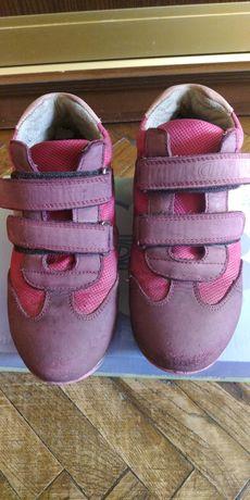 Осенние утепленные ботинки-кроссовки TopiTop