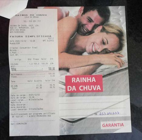 Colchão dezembro com garantia 1.85x85
