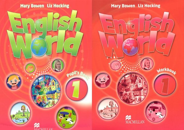 English World 1 комплект: Pupil's Book + Workbook + CD