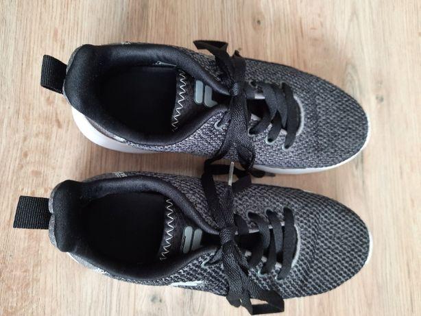 buty sportowe FILA sneakersy młodzieżowe na białej podeszwie