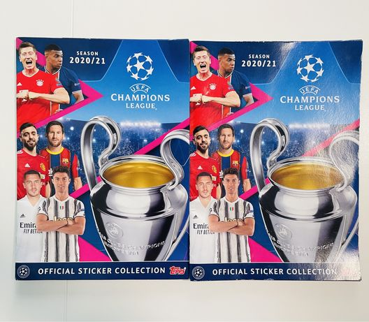 Cadernetas UEFA Champions League - Liga Campeões 2020 / 2021 - Topps