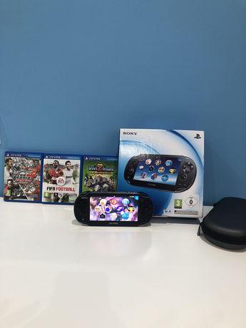 Playstation Psvita + 3 jogos