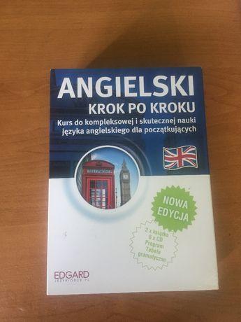 kurs języka angielskiego dla początkujących CD + 2 książki EDGARD